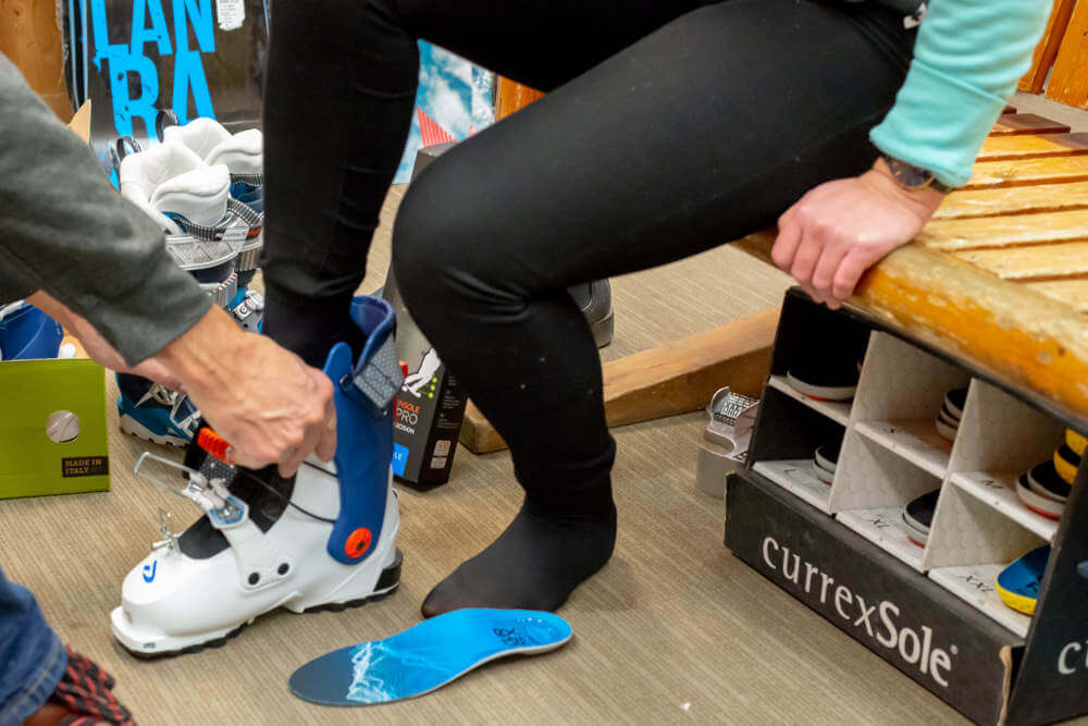 Using the latest bootfitting techniques Abominable Sports in Banff, Albert can help you get the most out of your ski boots
